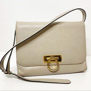 Salvatore Ferragamo vintage buckle closure handbag